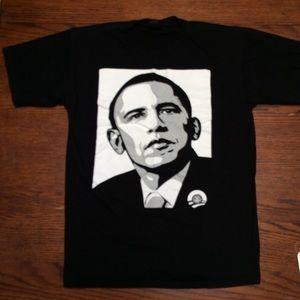 Obey Barack Obama T-shirt Large 100% Cotton